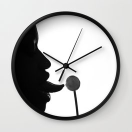 Lick  Wall Clock