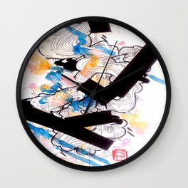 Finding Gravity Wall Clock