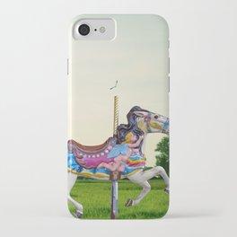 Wood horse Nature iPhone Case