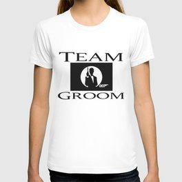 Groom James Bond T-shirt