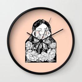 cry me a garden Wall Clock