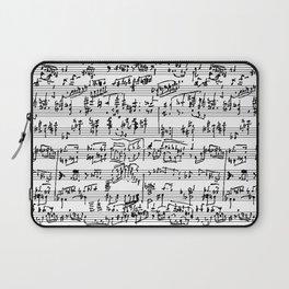 Hand Written Sheet Music Laptop Sleeve