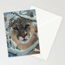 Cougar - Silent Encounter Stationery Cards