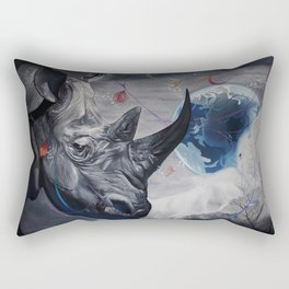 Regards from Eternity. Rectangular Pillow
