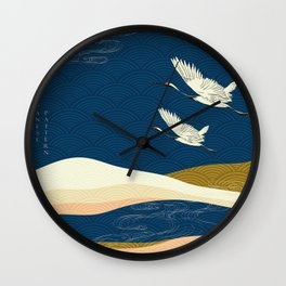 Asian Collection Wall Clock