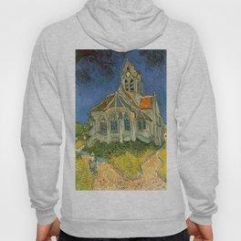 Vincent van Gogh's L'eglise d'Auvers sur Oise Hoody