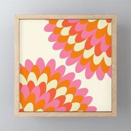 Dahlia at 60's Framed Mini Art Print