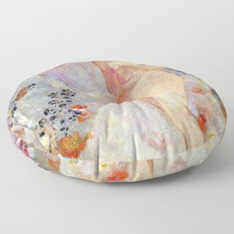 Odilon Redon Pandora Floor Pillow