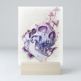 Always was a fungi Mini Art Print