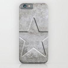 Solid Star in grey conrete iPhone 6s Slim Case