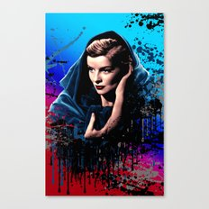 Katharine Hepburn, 60 years of drama. Canvas Print