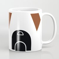 boxer Mugs featuring Boxer by modern arf