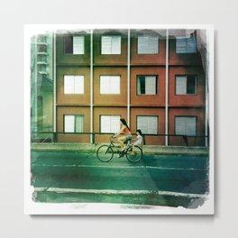 bi cycle love Metal Print