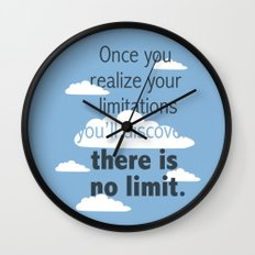 No Limit Wall Clock