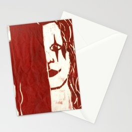 Brandon Lee Red Stationery Cards
