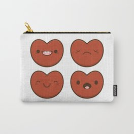 #11 Hearts Carry-All Pouch