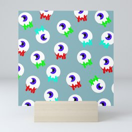 spooky eyes Mini Art Print