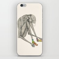 socks iPhone & iPod Skins featuring Favorite socks by auntikatar