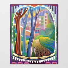 View Through Rainbow Eyes Canvas Print