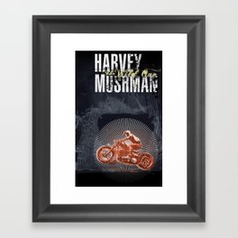 HARVEY MUSHMAN Framed Art Print