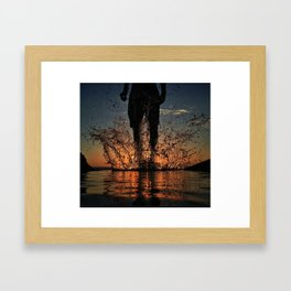 JUMP! Framed Art Print