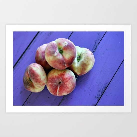 from the allotment Art Print
