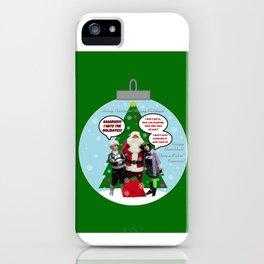 Danny Phantom Christmas ornament greeting card iPhone Case