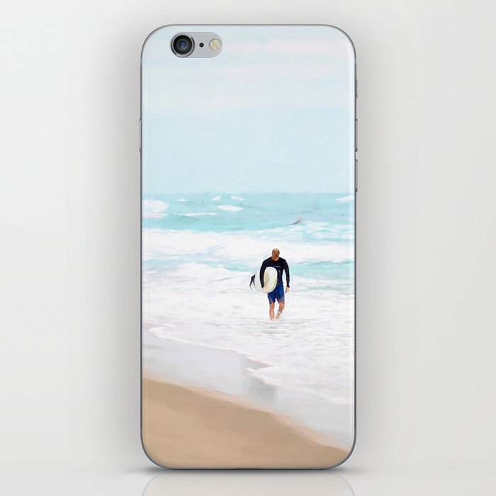 Surfer Defeat iPhone Skin