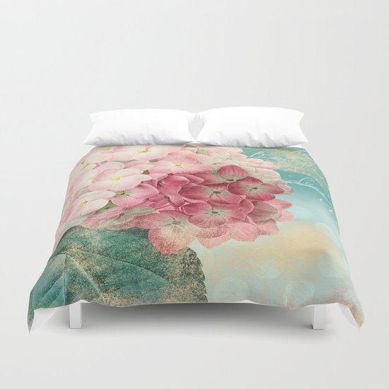Vintage flowers #12 Duvet Cover