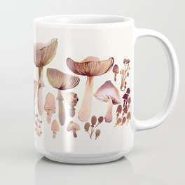 Watercolor Mushrooms Coffee Mug