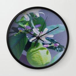 lemontree Wall Clock