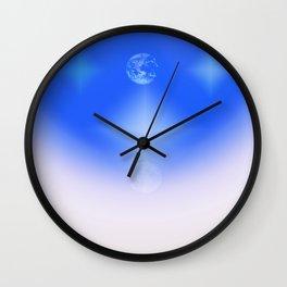 Celestial Harmony Wall Clock