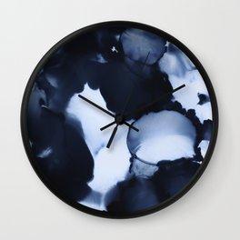BLUE INK 22 Wall Clock