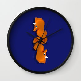 SeaUnicorn Wall Clock