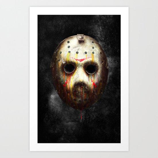 Jason Voorhees Art Print