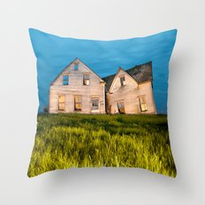 Family Homestead Throw Pillow