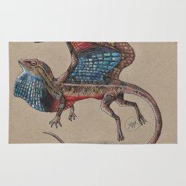 Fan Throated Dragon Rug