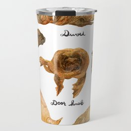 the furnished walrus Travel Mug
