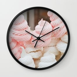 Meringue Wall Clock