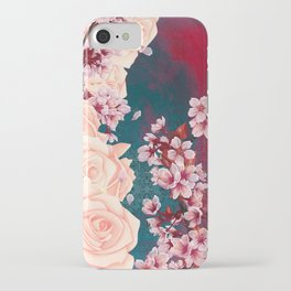 Full Bloom | Cherry pink Warhol iPhone Case