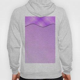 Geometric Modern Abtract Brushstrokes Lilac Lavender Gradient Hoody