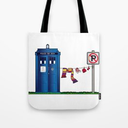 Doctor Who: tardis wardrobe  Tote Bag