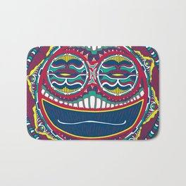 Adrenaline Mask Multicolor Bath Mat