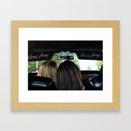 Mustange Fever Framed Art Print
