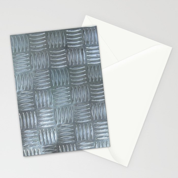 Aluminum Textured Stationery Cards
