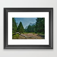 Yosemite-Half Dome Framed Art Print