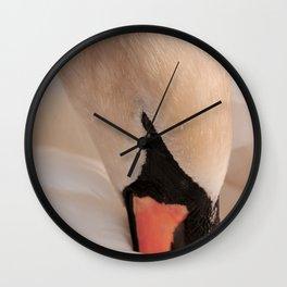 Graceful Swan Wall Clock