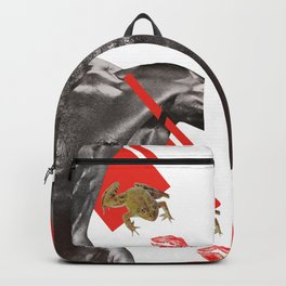THE FROG AND THE KISS Backpack
