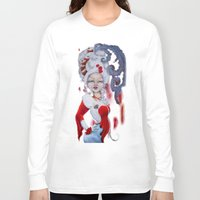 marie antoinette Long Sleeve T-shirts featuring Marie-Antoinette by CokecinL