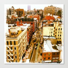 Chinatown View Canvas Print